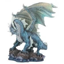 Statues Home Decor Water Dragon Collectible Figurine Statue Sculpture Figure Model
