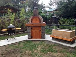 Backyard Pizza Oven Kit by Glorious Outdoor Pizza Oven Kits Decorating Ideas Images In Spaces