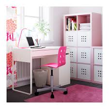 ikea bureau junior jules junior desk chair pink silver color ikea