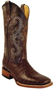 ferrini s boots size 11 ferrini s alligator belly print 13 square toe cowboy boots