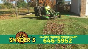 Fall Cleanup Landscaping by Snyder U0027s Landscape Design Inc