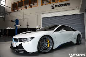 Bmw I8 On Rims - crystal pearl white bmw i8 adv05 m v2 cs series concave wheels