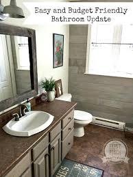 easy bathroom remodel ideas bathroom update cost shower renovation ideas small bath remodel cost