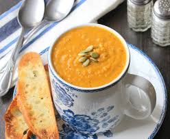 roasted butternut squash soup how to feed a loon