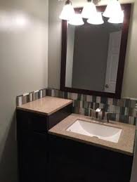 18 In Bathroom Vanity Cabinet by Glacier Bay Modular 24 5 In W Bath Vanity In Java With Solid