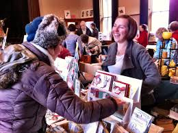 a cozy winter weekend of crafts in woods hole