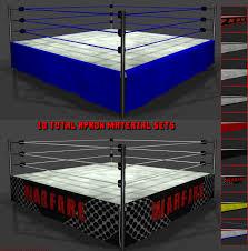 Wrestling Ring Bed Frame Dex U0027s Wrestling Set 3d Models Dexpac