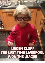 The League Memes - jurgen klopp the last time liverpool won the league meme on sizzle