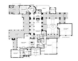 spanish colonial house floor plans