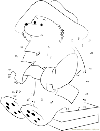 paddington bear colouring pages coloring page