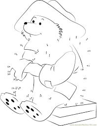 paddington bear colouring pages coloring page