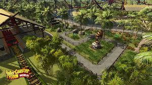 rollercoaster tycoon world delayed till early 2016 theme park games