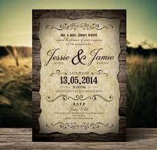 marriage invitation 21 vintage wedding invitation free psd format free