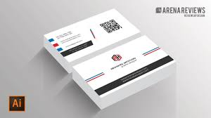 how to design business card template illustrator cc tutorial youtube