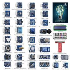 Rpi Help Desk Software by Sunfounder 37 Modules Sensor Kit V2 0 For Raspberry Pi 3 2 And