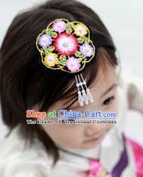 hair clasp traditional korean hair accessories embroidered hair clasp asian