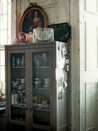 Display Dishes In China Cabinet Common Ground Ideas On Styling A Cabinet Or Cupboard Top