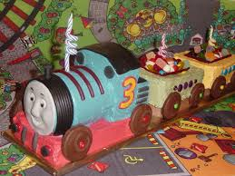 easy train cake thomas tank engine