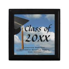 highschool graduation gifts high school graduation gift boxes keepsake boxes zazzle