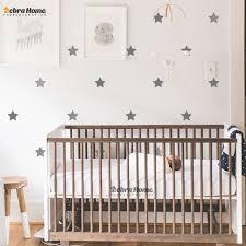 d oration murale chambre enfant personnalisé couleur étoiles sticker mural diy bébé pépinière