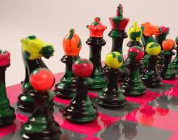 sophie matisse creates unique chess sets for purling london