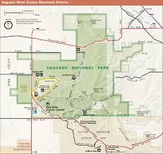 Yuma Az Map Saguaro Map West Jpg 1757 1665 Saguaro National Park Maps