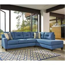 ashley furniture blue sofa 9960366 ashley furniture kirwin nuvella blue laf sofa