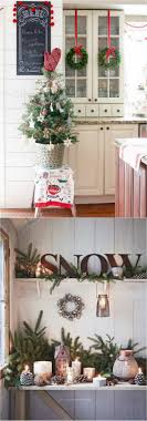 christmas decorations for kitchen cabinets 100 favorite christmas decorating ideas for every room in your home