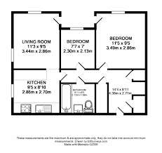 House Plans 2 Bedroom 14 2 Bedroom Flat Floor Plan Two Bedroom House Simple Floor Plans