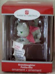 american greetings my wishes granddaughter ornament