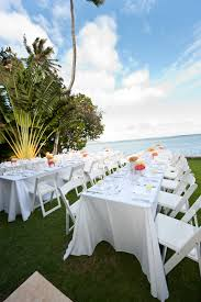 Rent Table And Chairs by 8ft Rectangle Banquet Tables And White Resin Chairs We Have