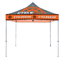 Custom Printed Canopy Tents casita canopy tent 15ft aluminum
