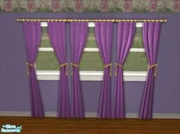 Victorian Curtains Downloads Sims 2 Objects Furnishing Decorative Curtains