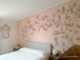 wallpaper home interior fascinating and pleasant painted flower silk wallpaper for