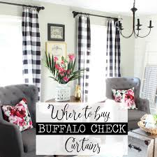 Black Check Curtains Where To Buy Buffalo Check Curtains Hymns And Verses