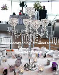 Cheap Gold Centerpieces by Popular Gold Wedding Tall Centerpiece Buy Cheap Gold Wedding Tall