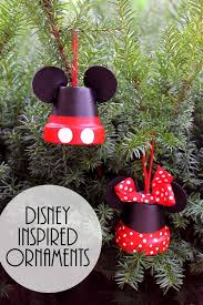 mickey minnie make disney inspired ornaments disney inspired