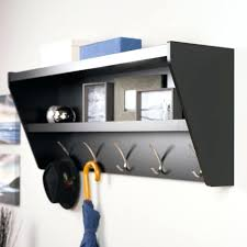 Entryway Organizer Shelves Shelf Organizer Wall Shelf With Hooks And Cubbies Wall