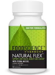 Joint Comfort Dietary Supplement Natural Flex By Foodscience Of Vermont