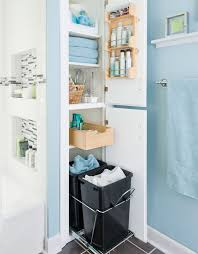 storage solutions for a small bathroom