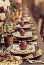 thanksgiving inspiration designing the table setting