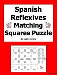 spanish reflexive verbs interactive notebook activities spanish