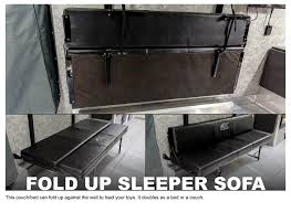 Fold Out Sleeper Sofa Atc Hauler Options