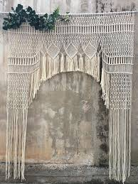 wedding backdrop etsy the best etsy macramé backdrops for your wedding backdrops etsy