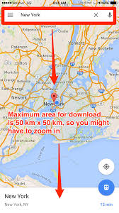 Map Snap Usa by How To Use Google Maps Offline Without Wifi Business Insider