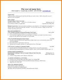 Proper Resume Template A Proper Resume Cbshow Co