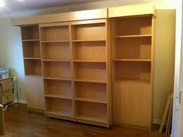 Murphy Bed Bookshelf Sliding Library Murphy Bed