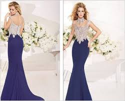 wedding evening dresses best design fashion lace applique evening dress