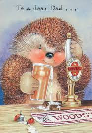 large nice hallmark country companions hedgehog birthday card