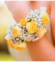 yellow bracelet wrist corsage ray hunter florist u0026 garden